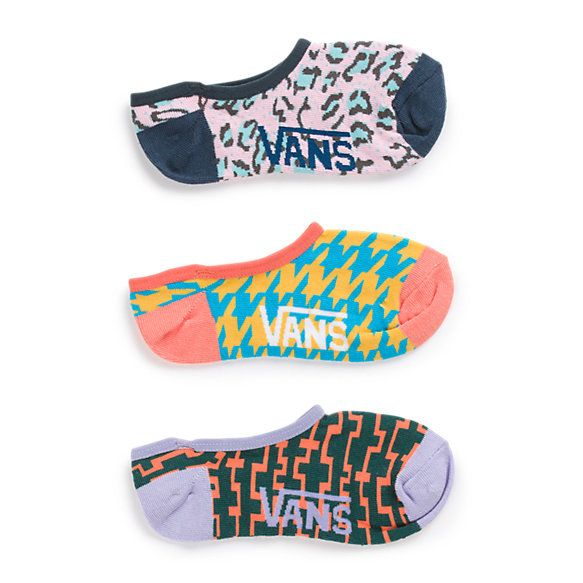 Retro Canoodle Socks 3 Pack | Shop Womens Socks at Vans