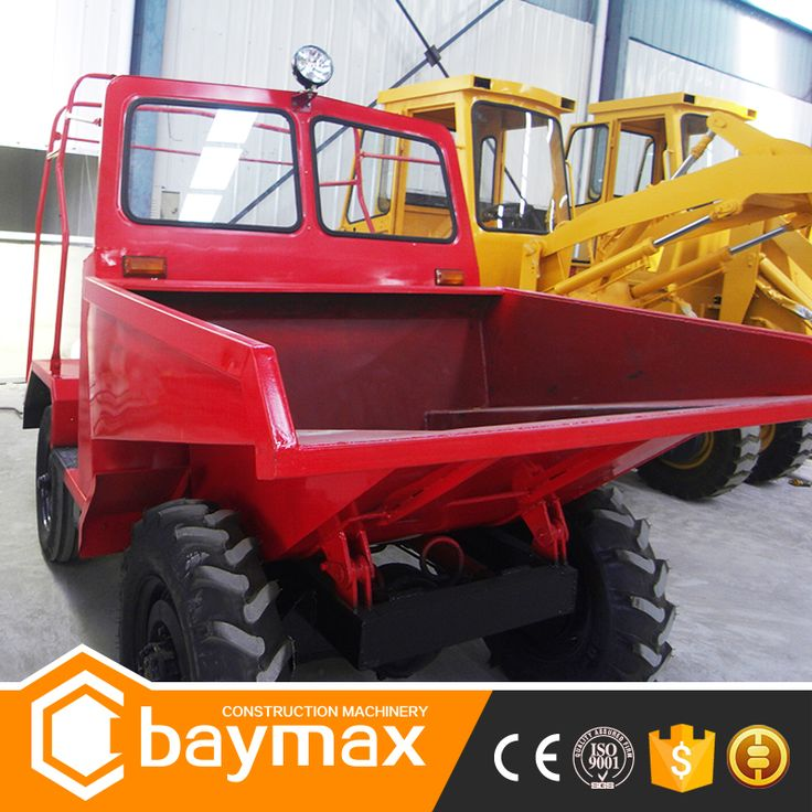 Chinese Hydraulic 4x4 Dump Truck for Sale