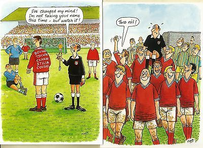 2 large birthday cards football reds man u arsenal liverpool – Man Utd Birthday Card