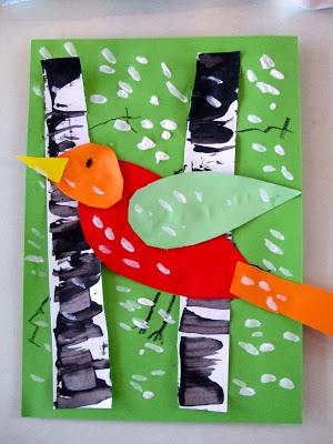 59 Best images about Bricolages oiseaux on Pinterest ...