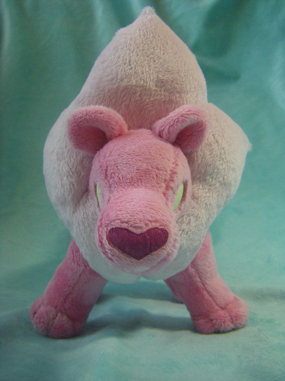 Steven Universe Inspired Lion Plush By Jessicasbeastlings On Etsy