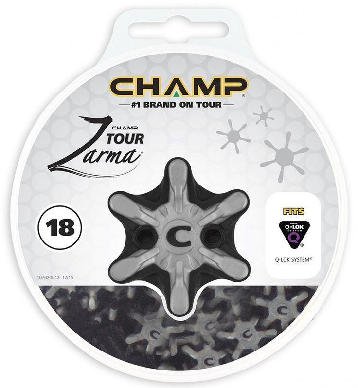 Champ Zarma Tour Q-Lok Golf Spikes Set of 18 Cleats #Champ