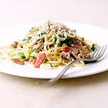 WeightWatchers.be - Weight Watchers Recepten - Spaghetti carbonara
