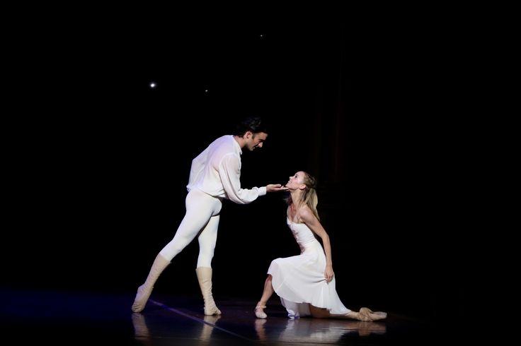 Brooke Widdison-Jacobs and Matthew Lehmann in Cinderella. Photo by Emma Fishwick