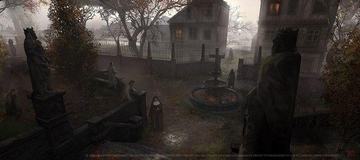 ArtStation - Assassins creed Unity : La Bièvre asylum, Nacho Yagüe