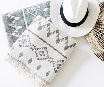 Turkish Towel | Hand Loomed Cotton Luxury Towels | Turkish T