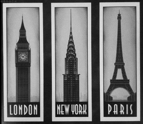 london, new york, paris: Empire States Building, Big Cities, Oneday, Buckets Lists, Eiffel Towers, Cities Life, Big Ben, New York, Newyork