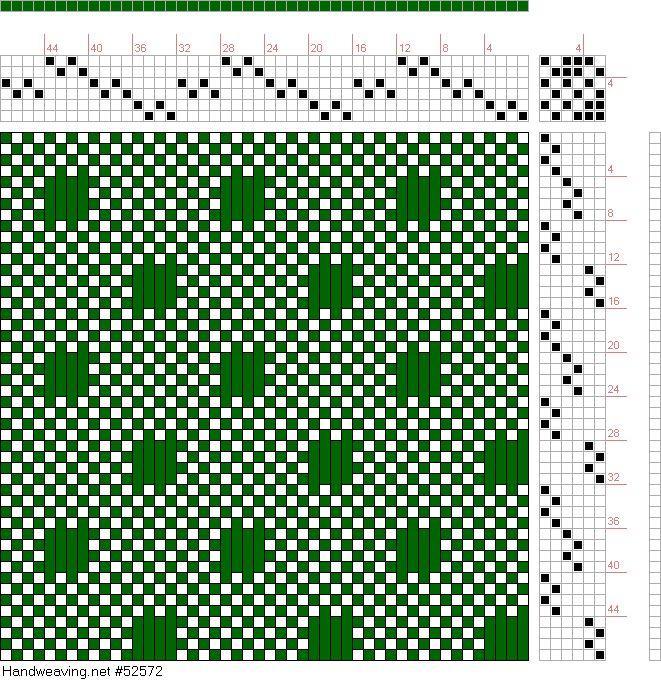 draft image: Figure 84, A Manual of Weave Construction, Ivo Kastanek, 6S, 6T
