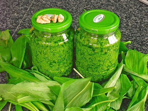 Walnuss - Bärlauch Pesto