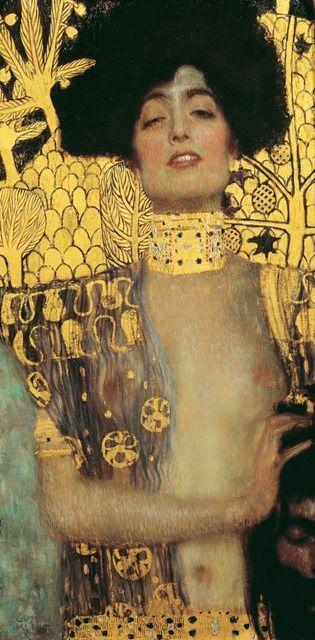 Gustav Klimt – Judith - Klimt´s golden phase in: http://www.arteeblog.com/2015/07/a-fase-dourada-de-gustav-klimt.html