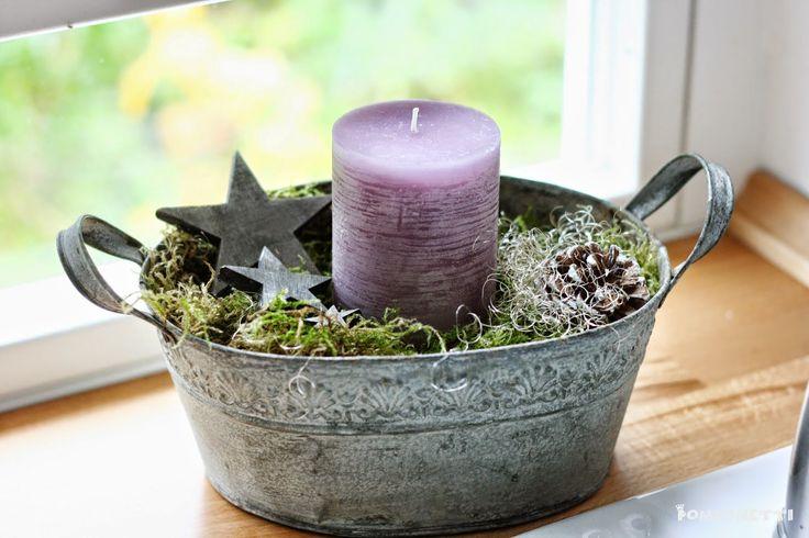 Das Schöne an der Weihnachtsdekoration finde ich immer, dass man sich   Zeit lassen kann.... ok dafür muss man natürlich bald anfangen ;))...