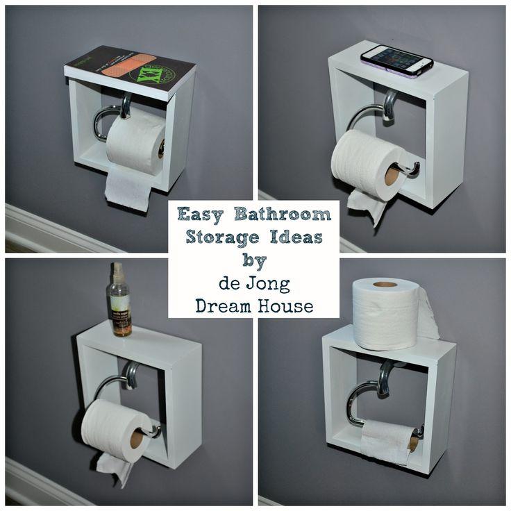 De Jong Dream House Easy Bathroom Storage Solution