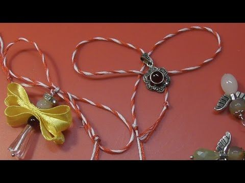 Snur Martisor DIY - tutorial in limba romana - YouTube