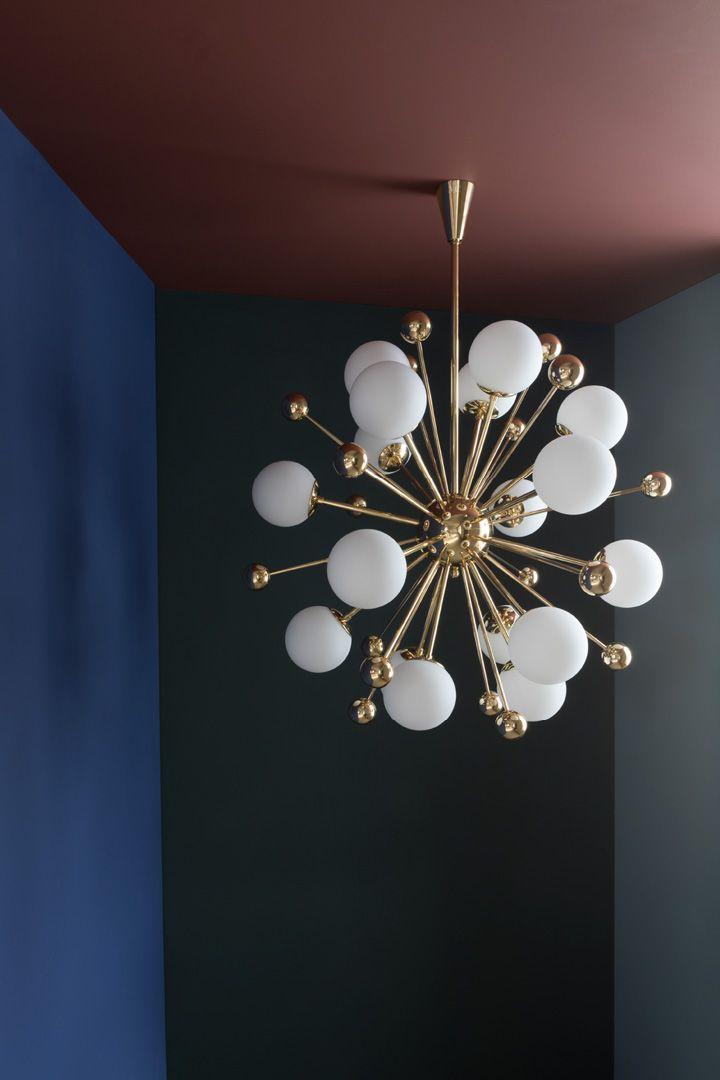 Three sizes of the Dandelion Chandelier | Chandelier