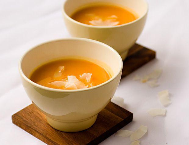 Mézeskalácsfűszeres sütőtökkrémleves