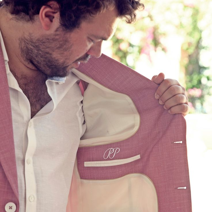 PIETER PETROS || SPETSES I || The importance given to the detailing on the inside of the suit makes you want to flaunt it. #Spetses1 #wednesdaytreat #PIETERPETROS