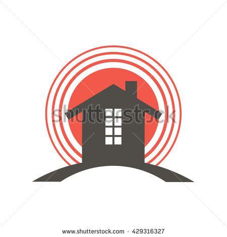 Realtor House Target Logo Vector Logo Design Ready Made