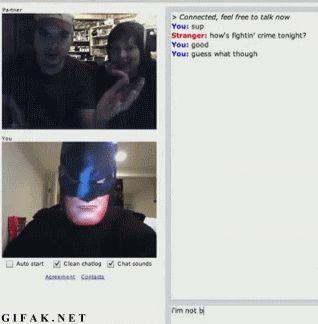 Tu no eres  batman