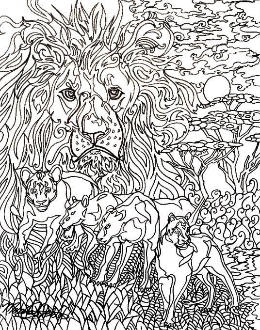 adult colouring pages adult coloring lions html