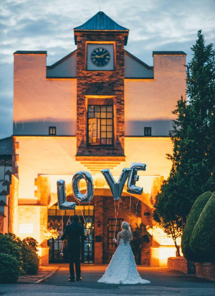 LOVE balloons, Crabwell Manor, Cheshire