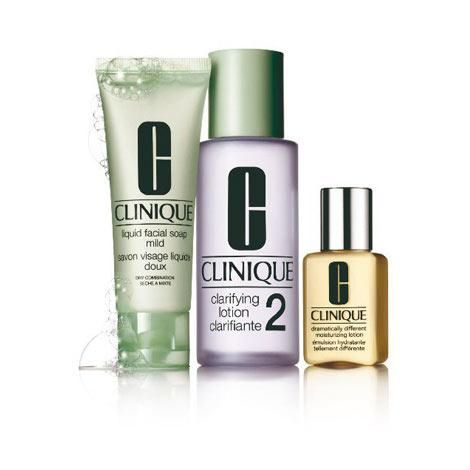 Clinique - 3-Step Intro Set. Skin Type