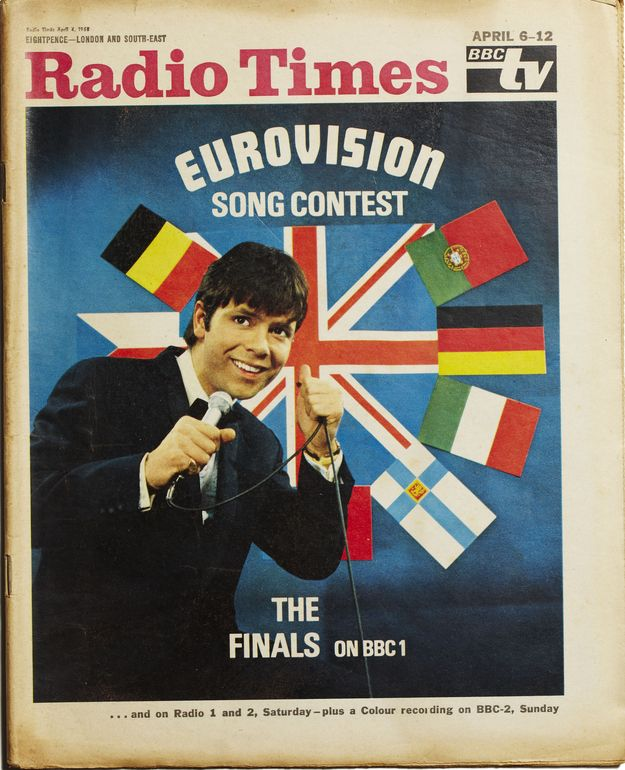 Eurovision and Cliff Richard, 4 April 1968.  Congratulations ! This used to be an 'occasion' in our house, with the whole family sitting down to watch, pick their favourites and judge.