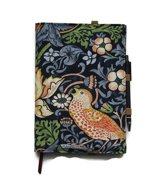 Notebook and pen A5 notebook reusable notebook by leahrosedesigns, £17.00