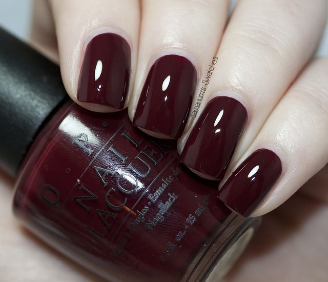 OPI Vampire State Building - my most coveted of all polish colors. OPI needs to bring it back.