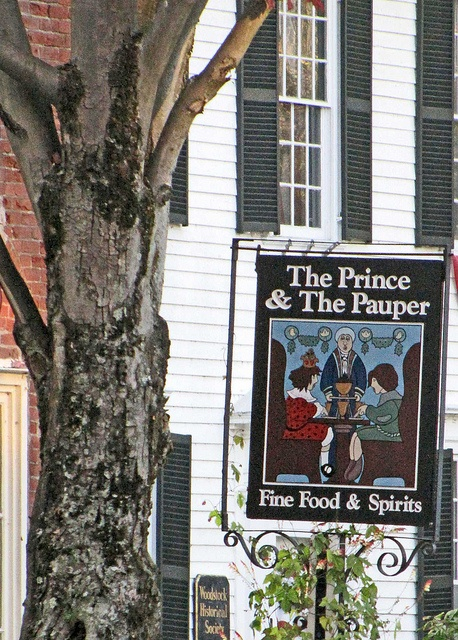 prince and the pauper restaurant Woodstock Vermont