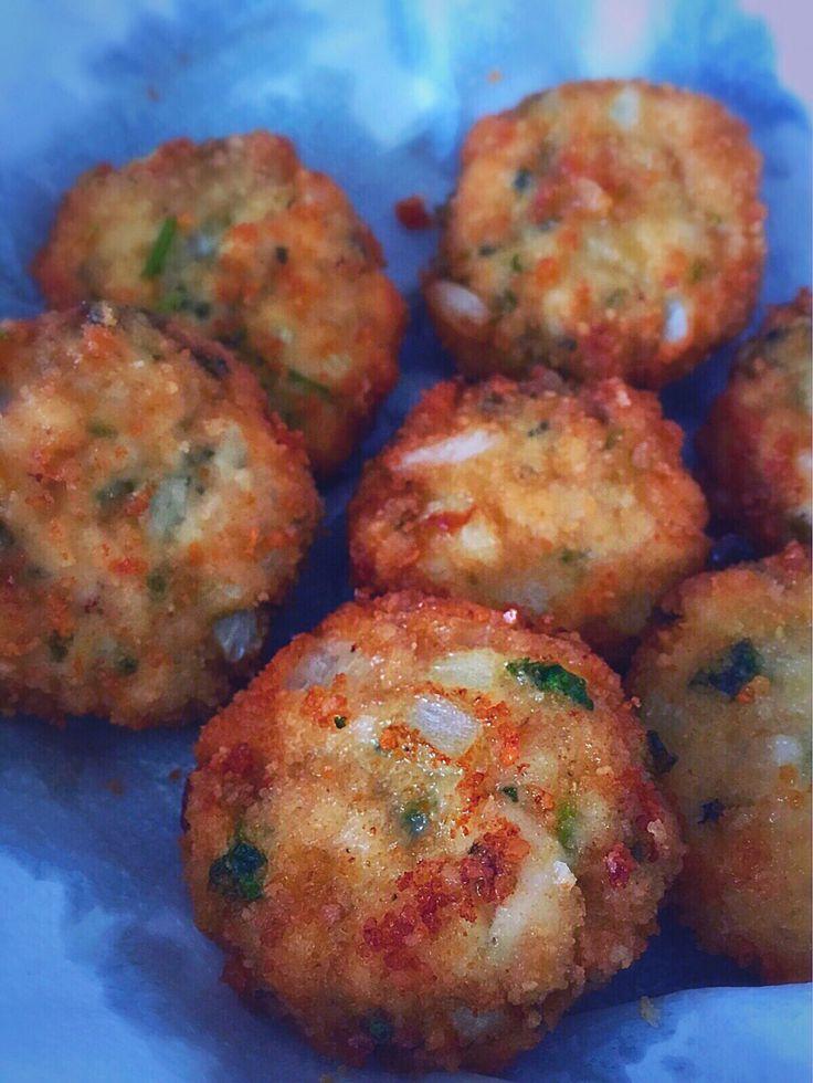 Boulettes mauriciennes de poulet à la menthe