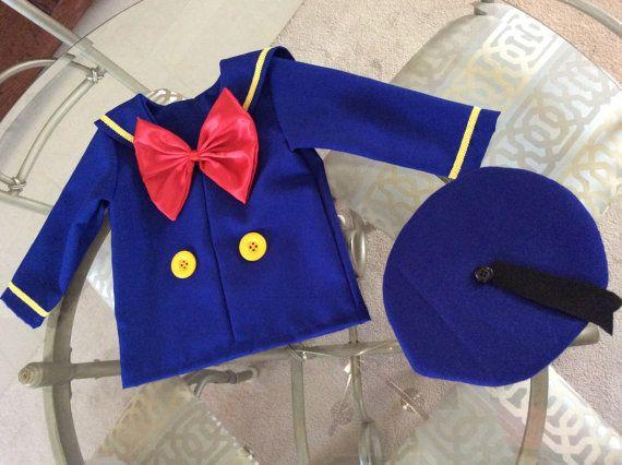 Donald Duck traje  traje de cumpleaños Disney 2 piezas