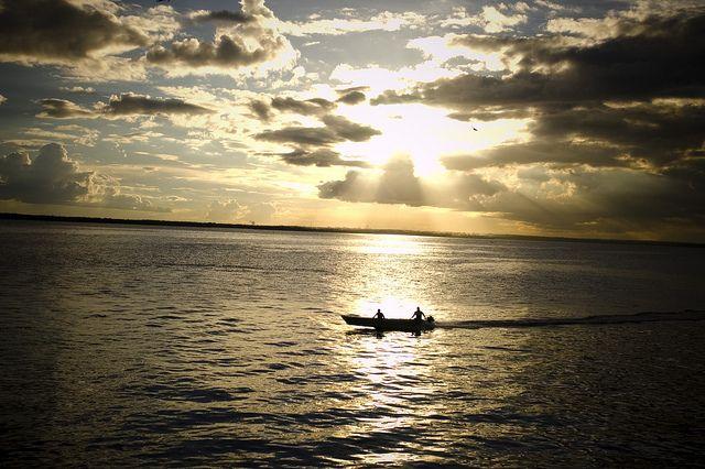 In viaggio lungo il Rio delle Amazzoni, Brasile