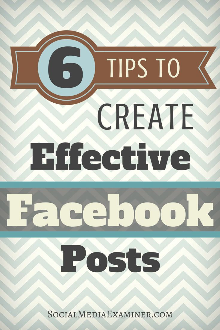 How and when you post on Facebook makes an important impact on how fans engage with your content.  In this article youll discover 6 ways to optimize your Facebook posting tactics.