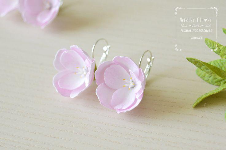 Sakura oorbellen bloem oorbellen cadeau voor haar sakura