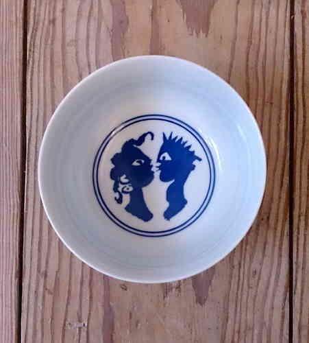 Eddy Varekamp, Ceramics, Porcelain bowl