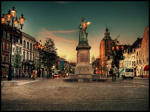 Downtown Maastricht -- a neat place to visit in the Netherlands