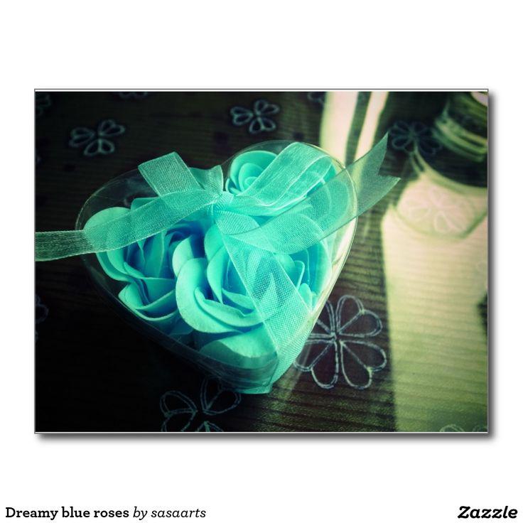 Dreamy blue roses