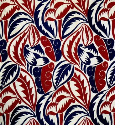 dots and lines are just fine: fabrics from 1934, designers unknown