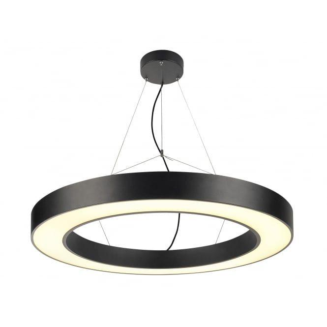 Medo Ring Pro 90 Ring Pendant Black Led Light Pendant Light Plastic Lights