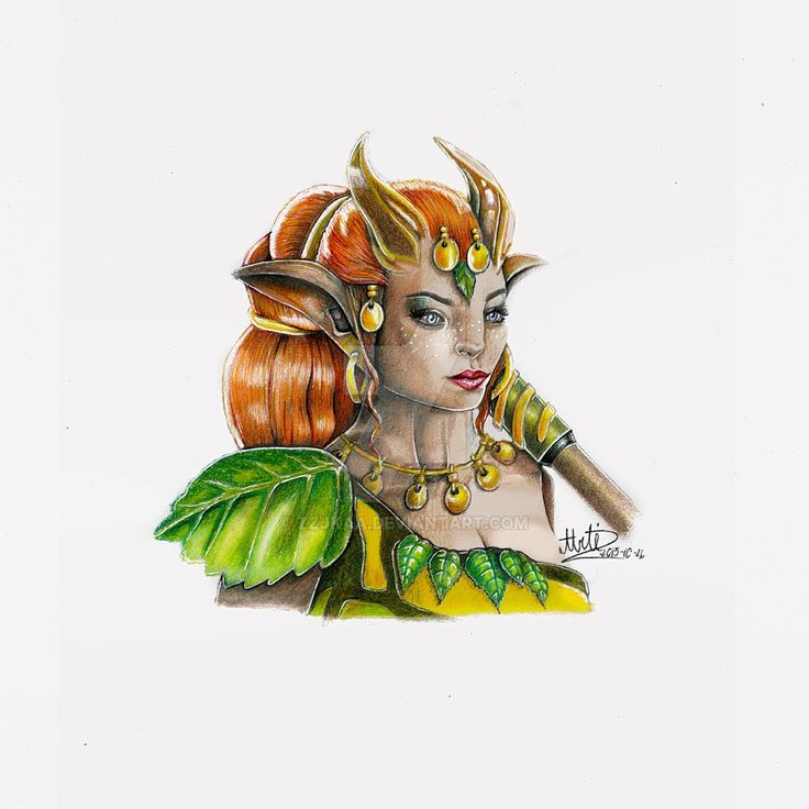 Enchantress Dota 2 by zzjkaa.deviantart.com on @DeviantArt
