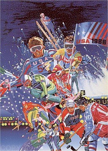 D hiver de 1988 Jeux olympiques de Hiro Yamagata