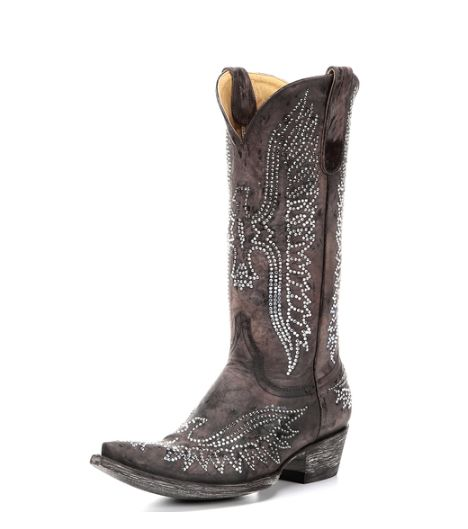 Old Gringo Boots http://www.countryoutfitter.com/style/16-boots-inspired-miranda-lamberts-grammy-performance/?lhb=style