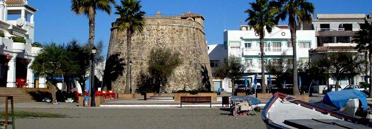 La Cala de Mijas is a traditional 'Pueblo Blanco' of Andalucía, Spain