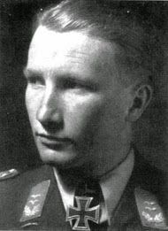 "✠ Gustav ""Micky"" Sprick (29 November 1917 – 28 June 1941) Killed in action against Spitfires. RK 01.10.1940 Leutnant Flugzeugführer i. d. III./JG 26"