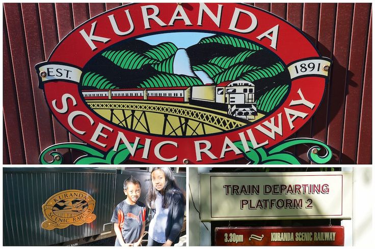 Kuranda scenic Railway with kids