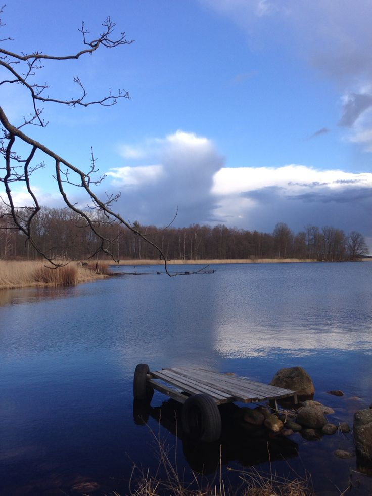 Lake Kösen, 10km away from Ljungby, Småland, Sweden