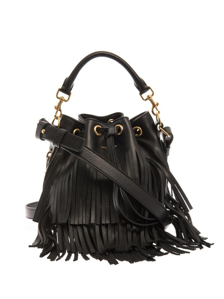 Fringe YSL bag | Shop D + E Online Store | Pinterest | Saint ...