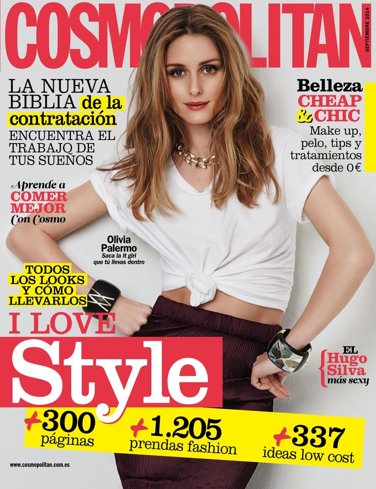 Revista #COSMOPOLITAN. #Belleza cheap & chic. I love #style: todos los #looks y cómo llevarlos.