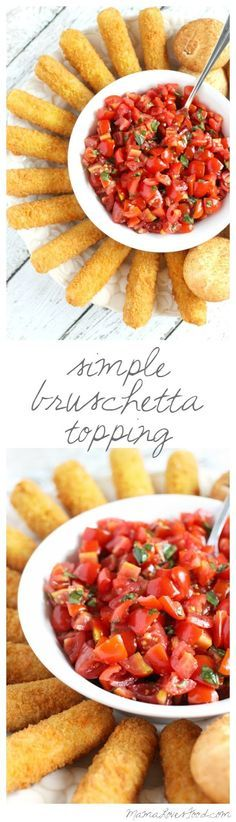 Simple Bruschetta Topping