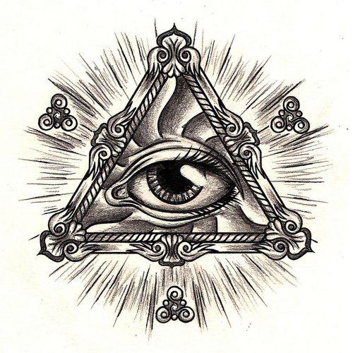 all seeing eye tattoo designs   All Seeing Eye Work Towards A Tattoo Design   We Heart It